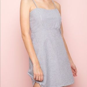 NWT Brandy Melville Karla Dress in Dark Blue